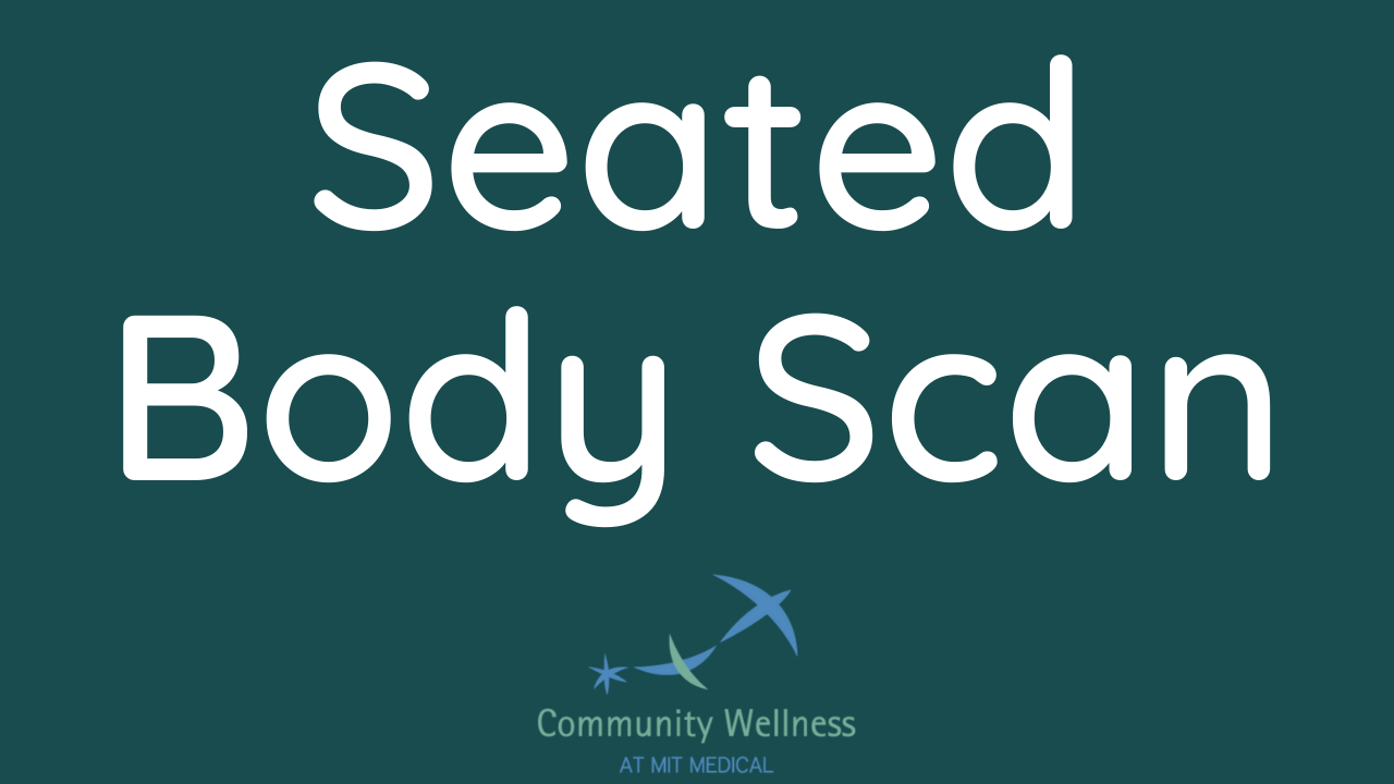 Seated Body Scan (An MBSR curriculum recording)